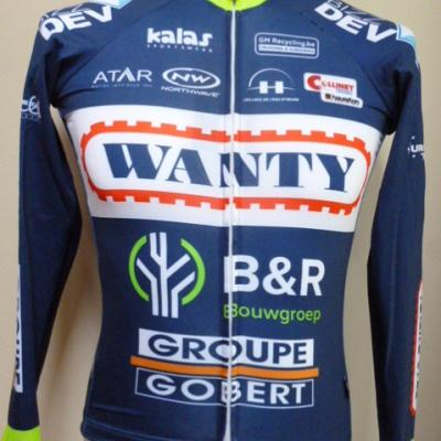 Maillot luxe manches longues WANTY 2017