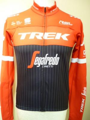 "Maillot ML doublé ""Thermal"" TREK-SEGAFREDO 2017"