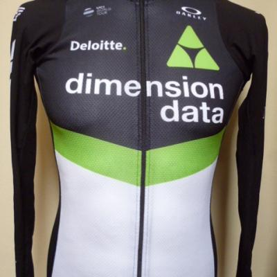 Maillot manches longues DIMENSION-DATA 2017