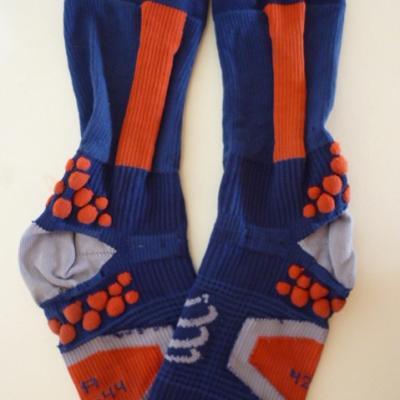 Socquettes de contention IAM (bleues)