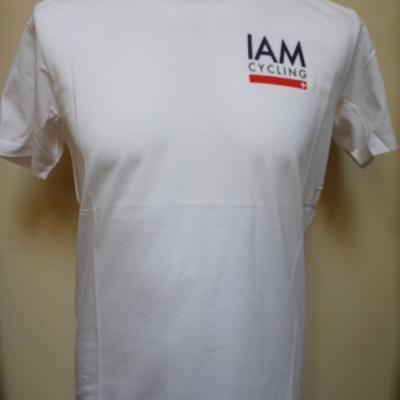 T-shirt blanc IAM