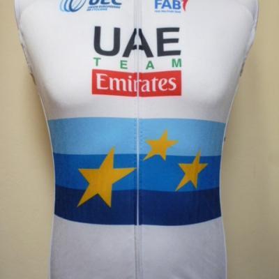 Gilet thermique UAE-EMIRATES 2018 ch. d'Europe