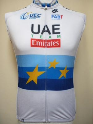Gilet thermique UAE-EMIRATES 2018 ch. d'Europe