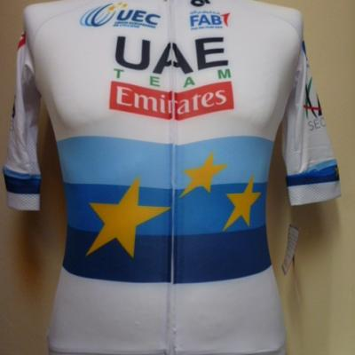 Maillot aéro UAE-EMIRATES 2018 ch. d'Europe