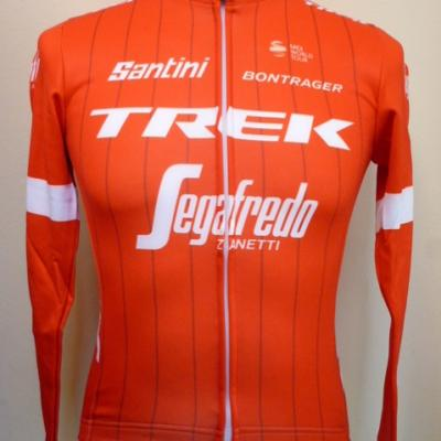 Maillot manches longues luxe TREK-SEGAFREDO 2018 (taille S, mod.1)