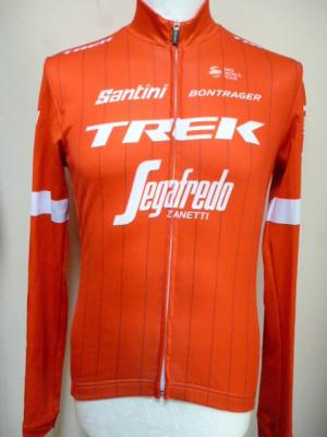 Maillot manches longues luxe TREK-SEGAFREDO 2018 (taille S, mod.2)