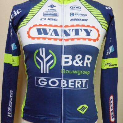 Maillot ML doublé WANTY 2018 (taille S, mod.2)