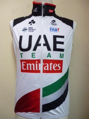 Gilet imperméable UAE-TEAM EMIRATES 2018