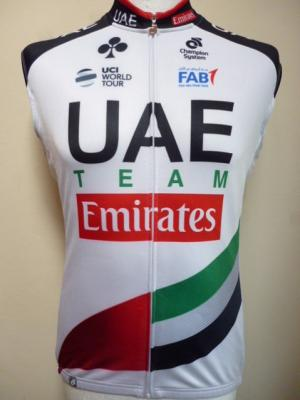 Gilet thermique UAE-TEAM EMIRATES 2018 (mod.2)