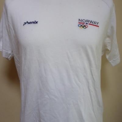 T-shirt équipe de NORVEGE (taille M, JO de Londres)