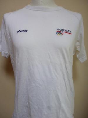 T-shirt blanc NORVEGE (JO de Londres)