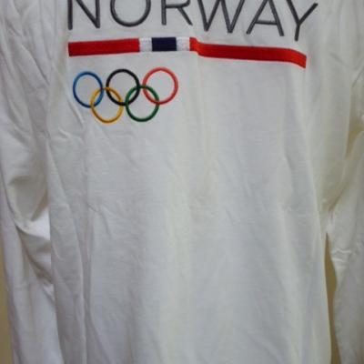 T-shirt ML équipe de NORVEGE (taille M, JO de Londres)