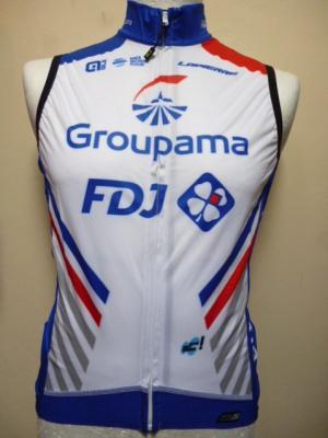 Gilet coupe-vent GROUPAMA-FDJ