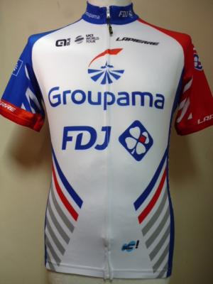 Maillot classique GROUPAMA-FDJ (taille M)