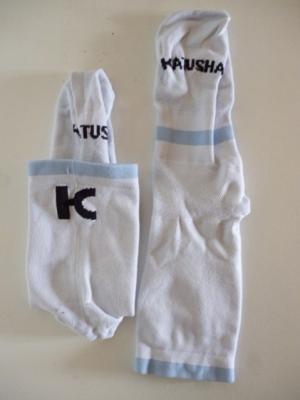 Socquettes KATUSHA-SPORTS (bande bleue)