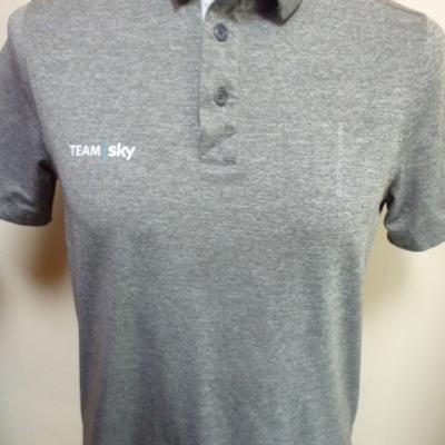 Polo gris SKY 2018 (taille XS)