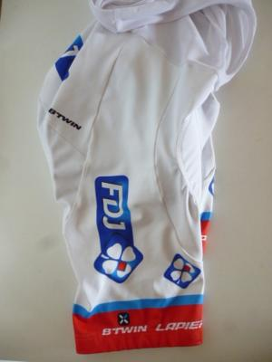 Cuissard classique blanc FDJ  (taille M)