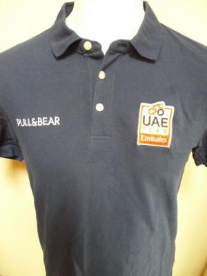 Polo bleu UAE-TEAM EMIRATES 2019