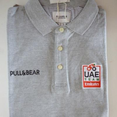 Polo gris UAE-TEAM EMIRATES 2019