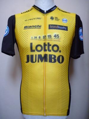 Maillot aéré LOTTO-JUMBO 2018 (taille XL)