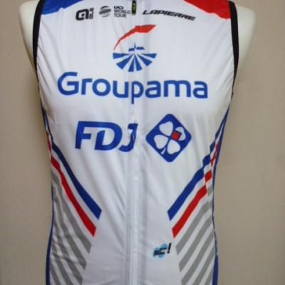 Gilet coupe-vent luxe GROUPAMA-FDJ (taille M)