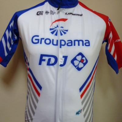 Maillot imperméable GROUPAMA-FDJ (taille M)