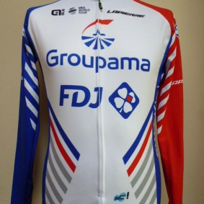 Maillot ML doublé GROUPAMA-FDJ (taille XS)