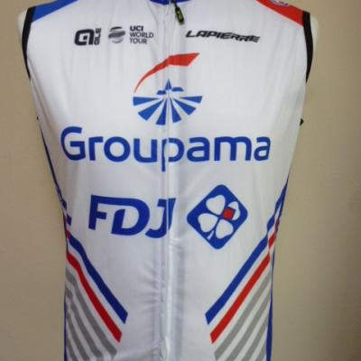 Gilet coupe-vent GROUPAMA-FDJ (taille XS)