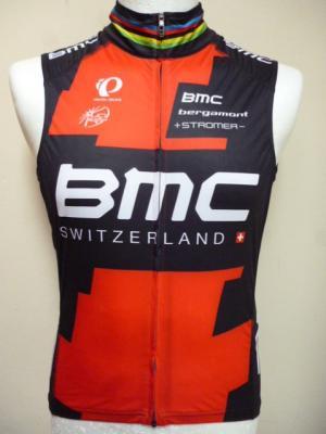Gilet coupe-vent BMC Ch. du Monde (taille M)