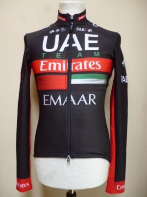 Maillot pluie ML UAE-TEAM EMIRATES 2019 (noir)