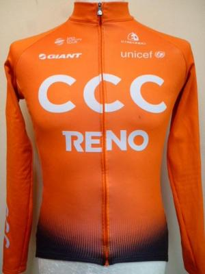 Maillot ML doublé CCC 2019 (taille S, mod.2)