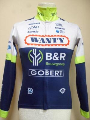 Maillot de pluie ML style Gabba WANTY 2019 (taille S)