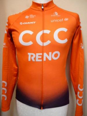 Maillot ML doublé CCC 2019 (taille S, mod.1)
