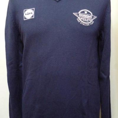 Pull col V DECEUNINCK-QUICK STEP 2020 (taille S)