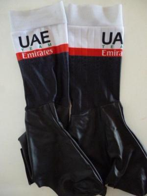 Couvre-chaussures aéros UAE-TEAM EMIRATES 2020 (taille M)