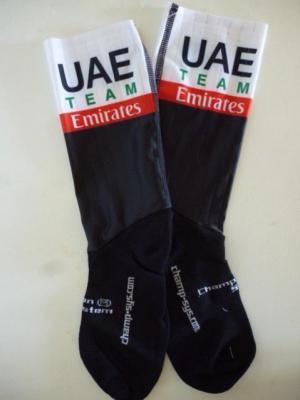 Socquettes aéros UAE-TEAM EMIRATES 2020 (taille M, mod.1)
