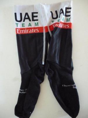 Socquettes aéros UAE-TEAM EMIRATES 2020 (taille M, mod.2)