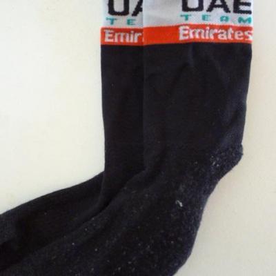 Socquettes hiver UAE-TEAM EMIRATES 2019 (taille L)