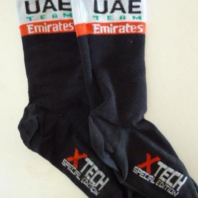 Socquettes UAE-TEAM EMIRATES 2019 (taille L)