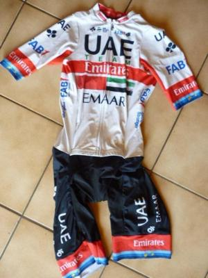 Combinaison route UAE-TEAM EMIRATES 2019 (liserés, mod.2)