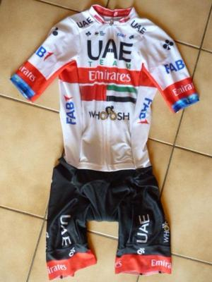 Combinaison route UAE-TEAM EMIRATES 2020 (liserés)