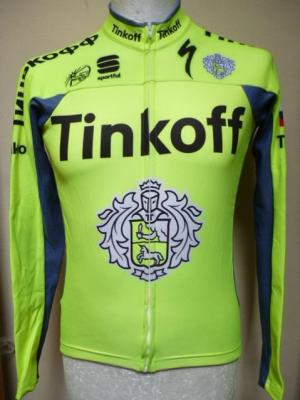 Maillot ML hiver TINKOFF 2016