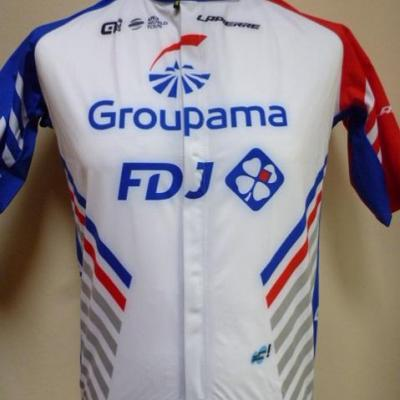 Maillot imperméable GROUPAMA-FDJ (taille L)