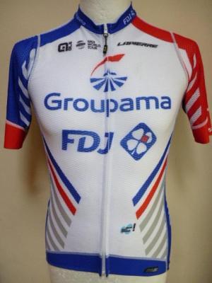 Maillot aéré GROUPAMA-FDJ (taille L, mod.2)