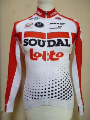 Maillot ML luxe LOTTO-SOUDAL 2019 (taille XS)