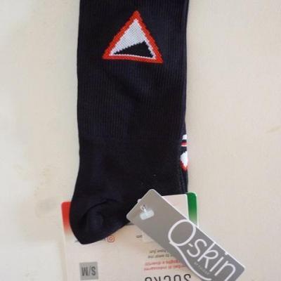 Socquettes noires KM-CYCLINGWEAR (taille S/M)