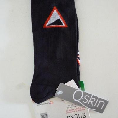 Socquettes noires KM-CYCLINGWEAR (taille L/XL)