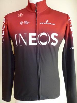 Maillot ML hiver INEOS 2019 (taille L,