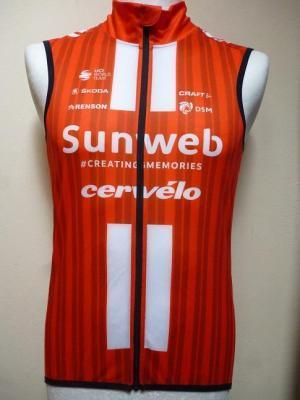 Gilet coupe-vent SUNWEB 2020 (taille XS)