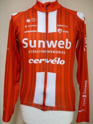 Maillot manches longues SUNWEB 2020 (taille M)